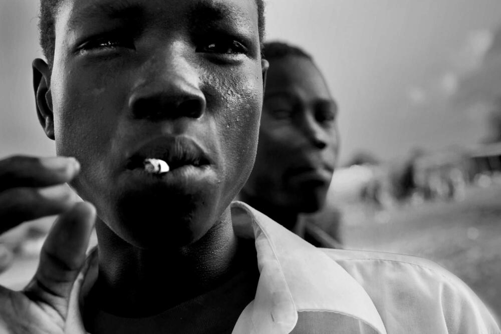 Camille Lepage Soudan du Sud, Jonglé