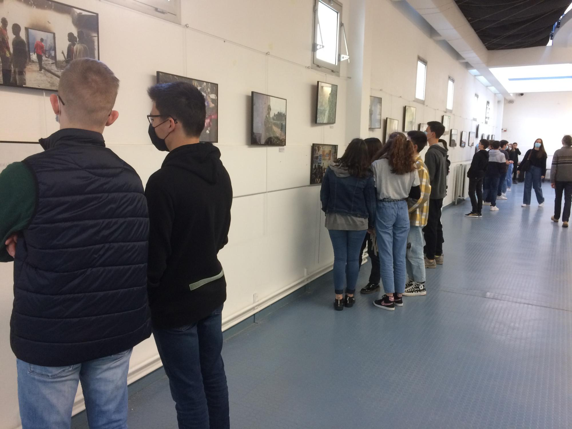 """""""Pure colère"""" exhibition – High school David d´Angers – France"""
